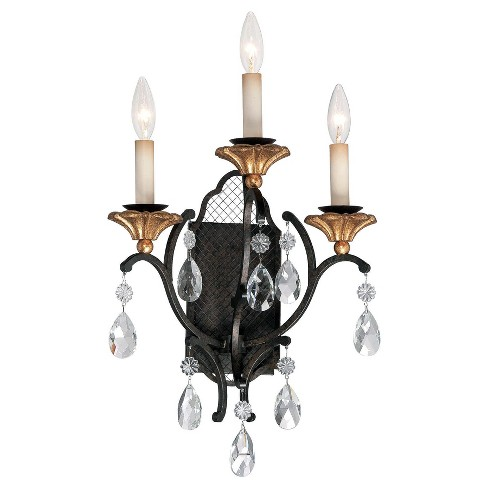 Metropolitan N7103 3 Light Wall Sconce from the Cortona Collection - image 1 of 1