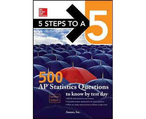 5 Steps to a 5 500 Ap Microeconomics Questions to Know by Test Day (Paperback) - image 1 of 1