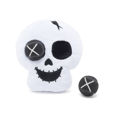 Bark Skull Halloween Dog Toy - Mr. Bonejangles - image 1 of 4