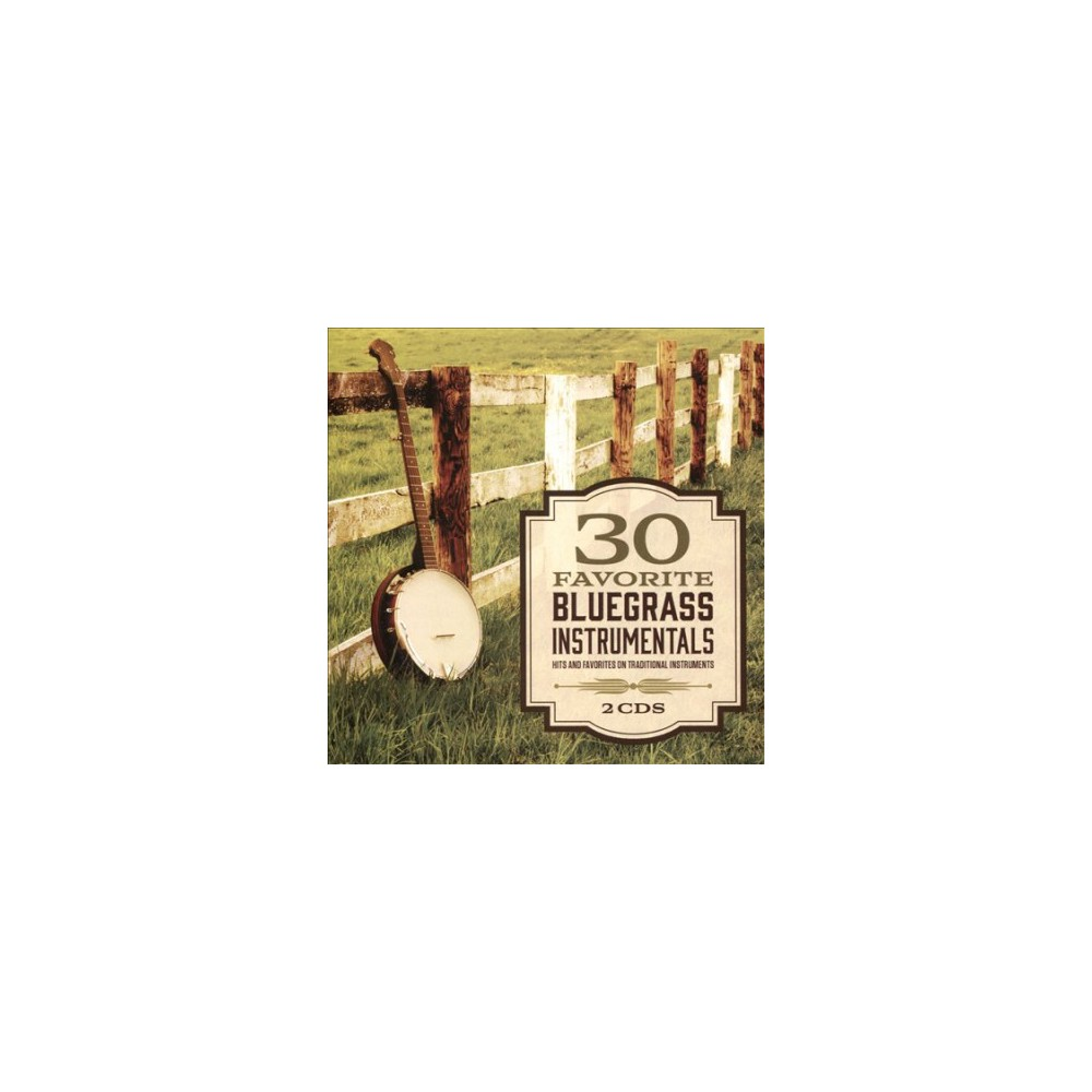 Various - 30 Favorite Bluegrass Instrumentals (CD)
