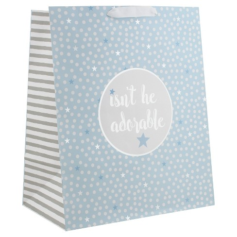 """Isn't He Adorable"" Gift Bag - Spritz™ - image 1 of 1"
