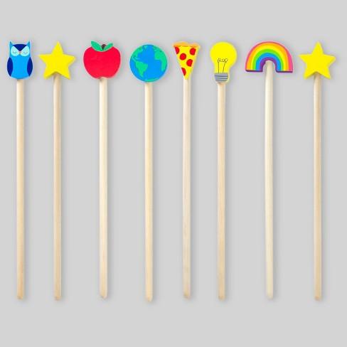 8ct Wood Pointers - Bullseye's Playground™ - image 1 of 8