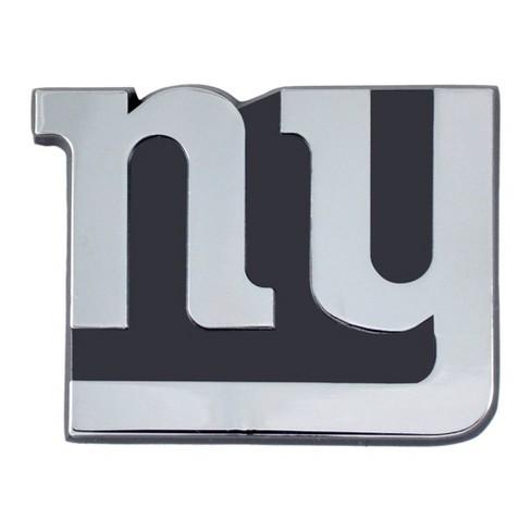 NFL New York Giants 3D Chrome Metal Emblem - image 1 of 3