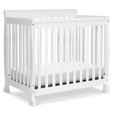 DaVinci Kalani 4-in-1 Convertible Mini Crib and Twin Bed - White