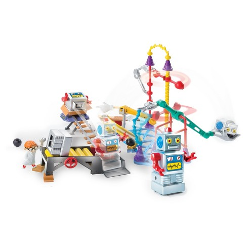 Rube Goldberg - The Robot Factory Challenge - Interactive S.T.E.M Learning Kit - image 1 of 4