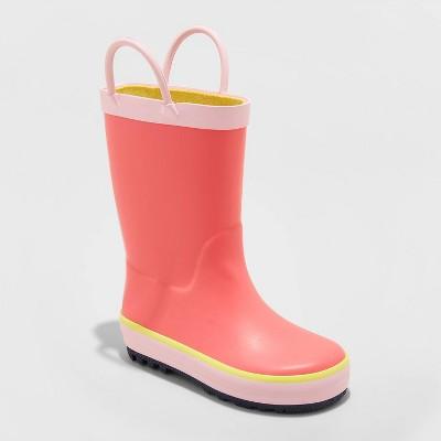 Toddler Girls' Sandy Rain Boots - Cat & Jack™ Pink 5