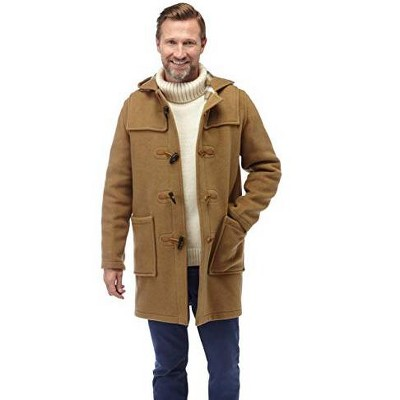 Original Montgomery Men's Classic Fit Duffle Coat with Horn Toggles