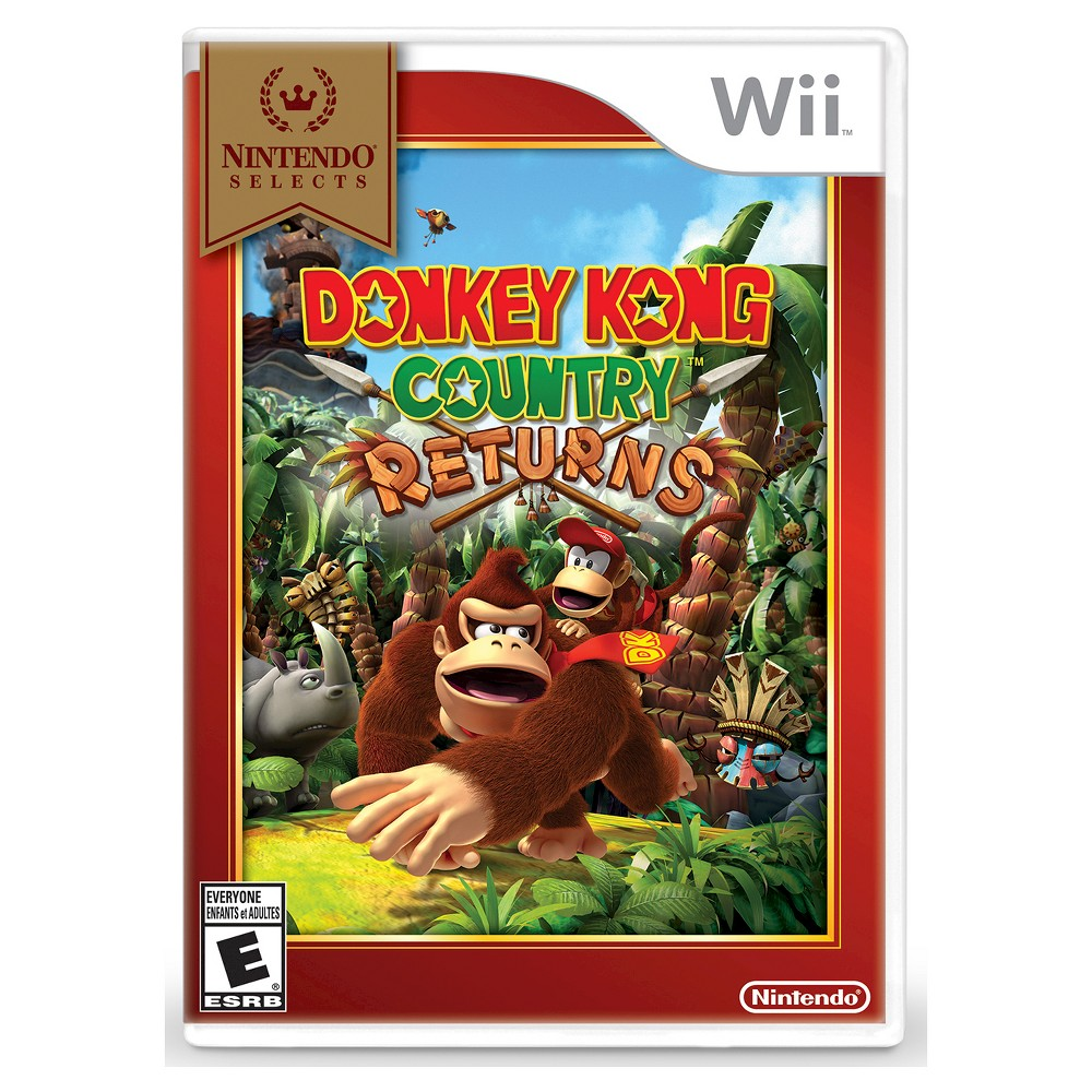 Nintendo Selects: Donkey Kong Country Returns Nintendo Wii