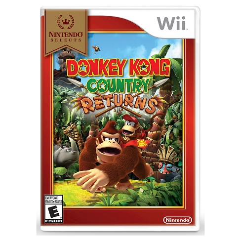 Nintendo Selects: Donkey Kong Country Returns Nintendo Wii - image 1 of 1