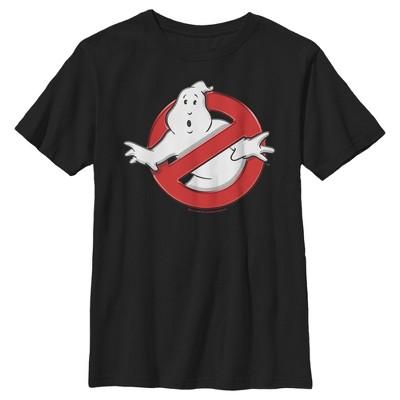 Boy's Ghostbusters Classic Logo T-Shirt
