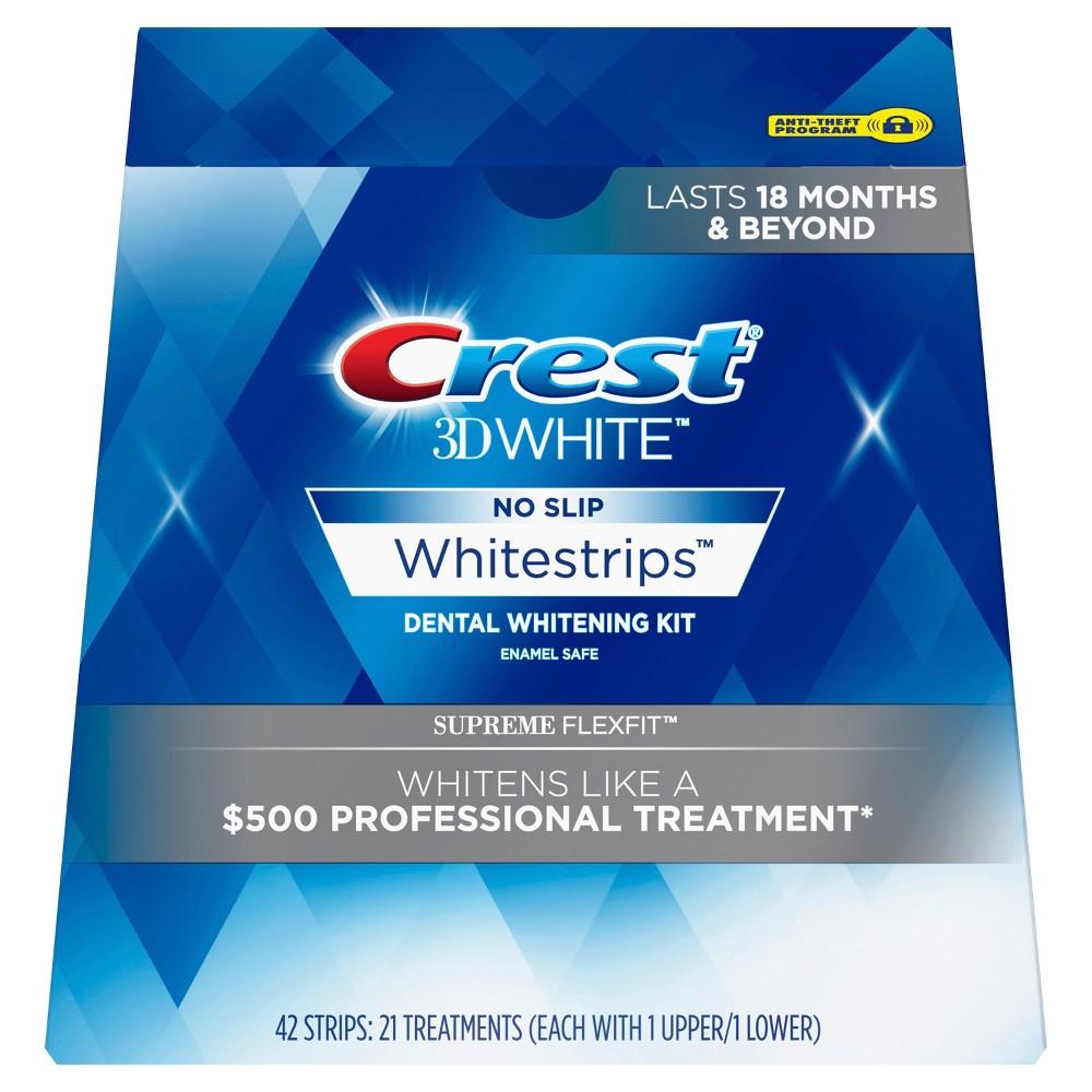Crest 3D White Luxe Whitestrips Supreme FlexFit Teeth Whitening Kit - 21 Treatments