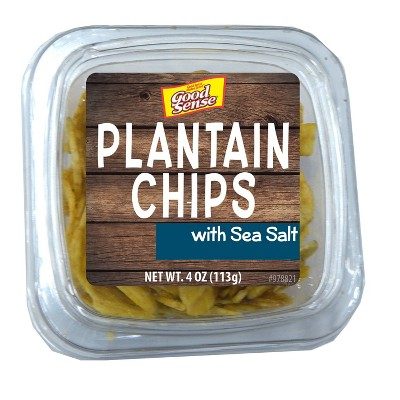 Good Sense Plantain Chips - 4oz