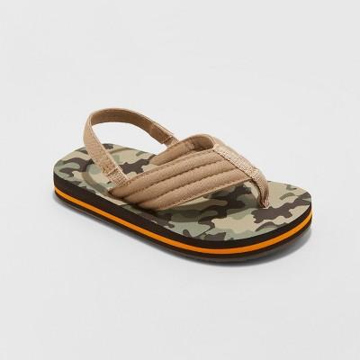 8eea8062fa2f Toddler Boys  Leo Flip Flop Sandals - Cat   Jack™ Brown