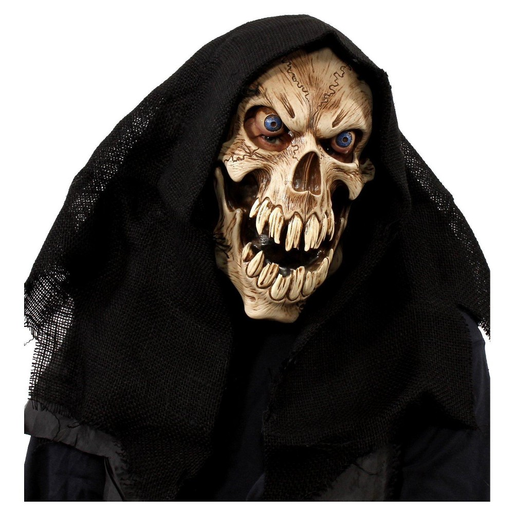 Image of Groovy Ghoul Overhead Mask with Hood