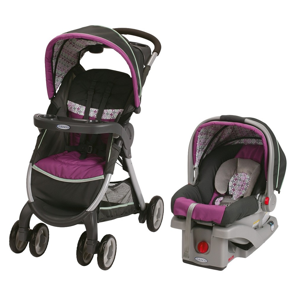 Graco FastAction Fold Click Connect Travel System - Nyssa