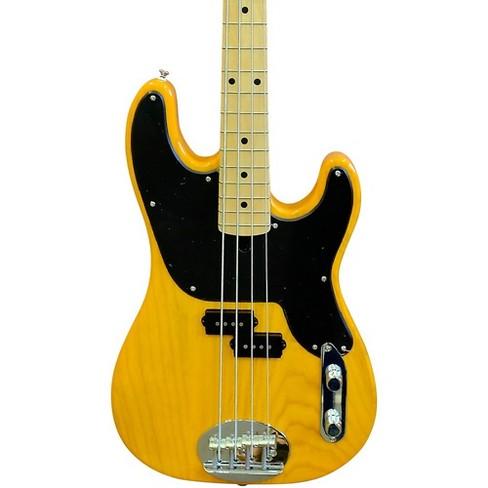 Lakland Skyline 44-51 Maple Fretboard 4-String Electric Bass Guitar Blonde - image 1 of 5