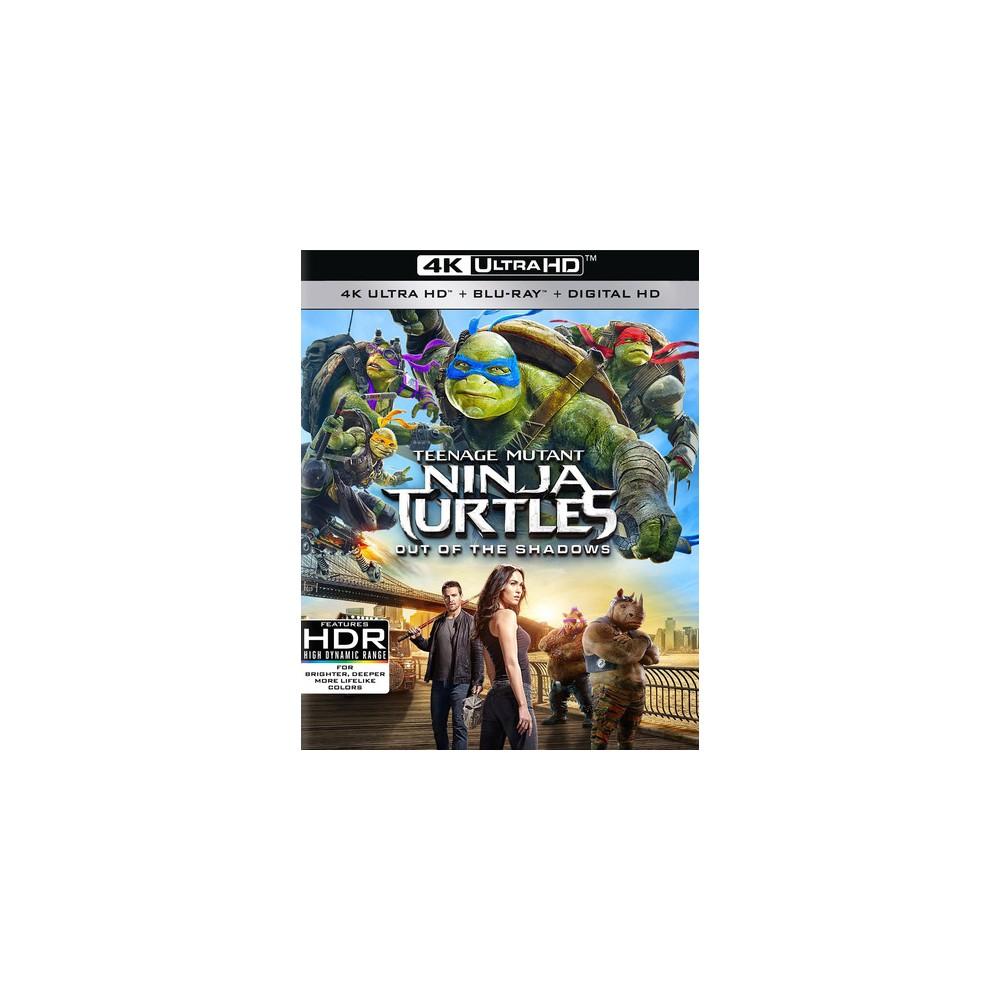 Teenage Mutant Ninja Turtles: Out of the Shadows (4K/Uhd + Digital)