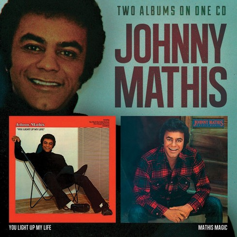 Johnny mathis - You light up my life/Mathis magic (CD) - image 1 of 1