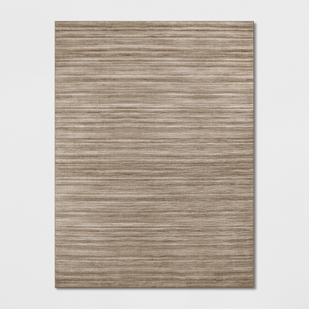9'X12' Thin Stripe Tufted Area Rugs Copper (Brown) - Project 62