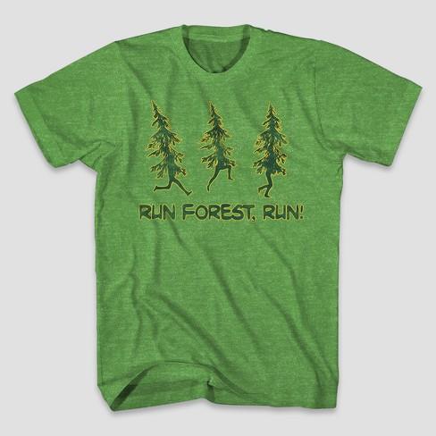 dbf16bbc Men's Run Forest Run Short Sleeve Graphic T-Shirt - Green : Target