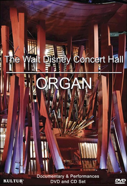 Walt disney concert hall organ (DVD) - image 1 of 1