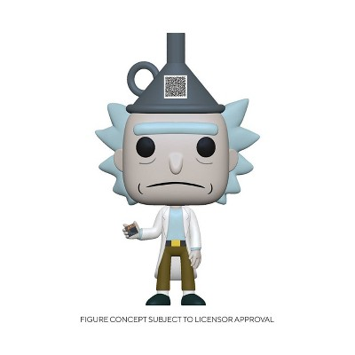 Funko POP! Animation: Rick & Morty - Rick with Funnel Hat (Target Exclusive)