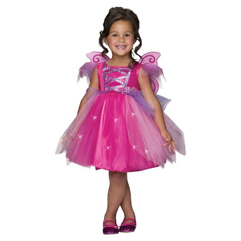 Barbie Toddler Girls' Fairy Costume 2T-4T - image 1 of 1