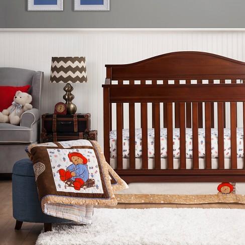 Paddington Bear By Trend Lab 3pc Crib Bedding Set