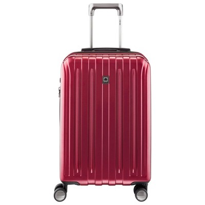 "DELSEY Paris Titanium 21"" Expandable Spinner Carry On Suitcase"