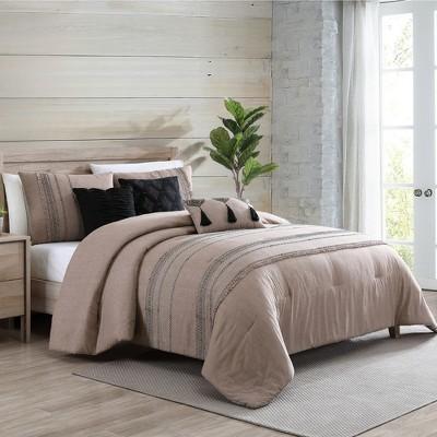 Modern Threads 6 Piece Embellished Comforter Set, Octavia.