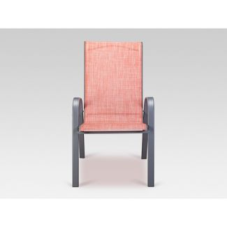 Stack Sling Patio Chair Coral - Threshold™