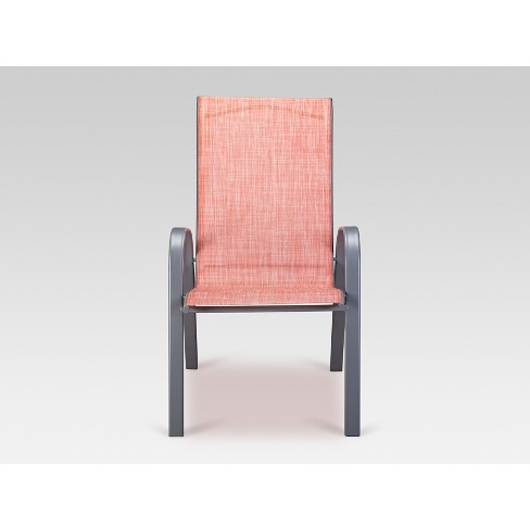 Sling Stacking Patio Chair - Threshold™ - image 1 of 3