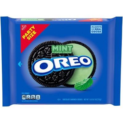 Mint Creme Oreo Party Size - 26.7oz