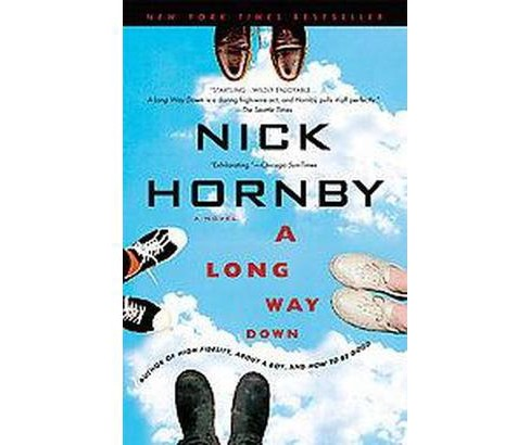 Long Way Down (Reprint) (Paperback) (Nick Hornby) - image 1 of 1