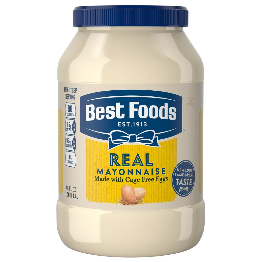 Best Foods Mayonnaise Real - 48oz Promos