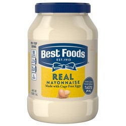 Best Foods Mayonnaise Real - 48oz