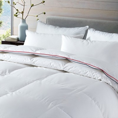 Puredown All Season 75% White Goose Down Comforter with Baffle-box Construction and Gusset
