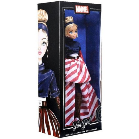 Marvel Fan Girl Madame Alexander Collection Captain America Doll - image 1 of 3