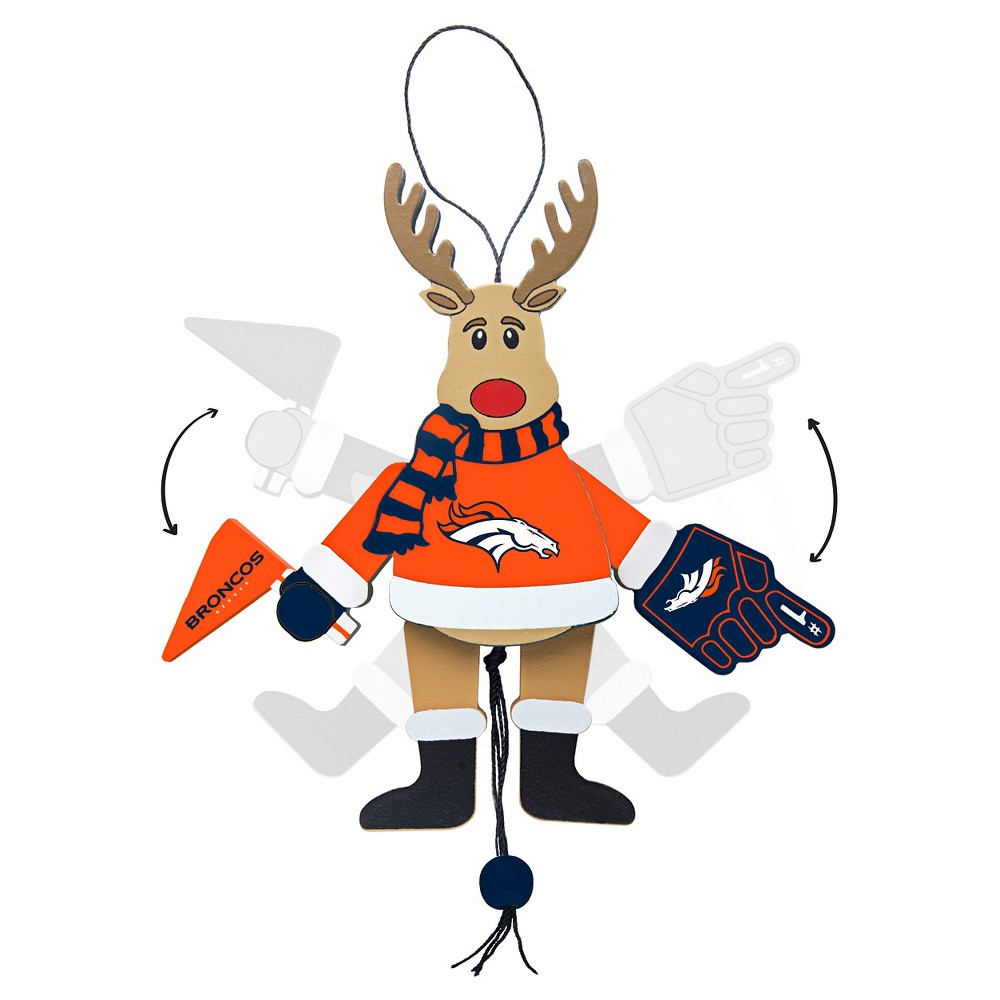 Denver Broncos Topperscot Tree Ornament