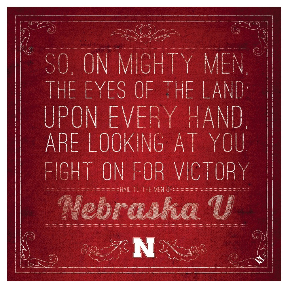 Nebraska Cornhuskers Spirit Trivets, Red
