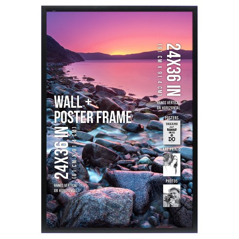 "Poster Frame 1"" Profile - Black - (24""x36"") - Room Essentials™ - image 1 of 4"