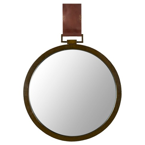 Round Time Out Decorative Wall Mirror - Safavieh® - image 1 of 4