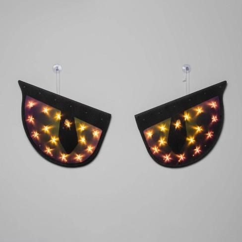Incandescent Jumbo Purple Eyes Halloween Light Up Decor Hyde Eek Boutique Target