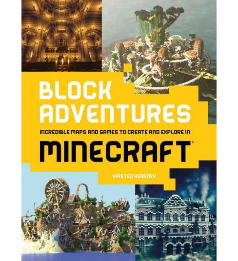 Block Adventures : Incredible Maps and Games to Create and Explore in Minecraft -  (Paperback) - image 1 of 1