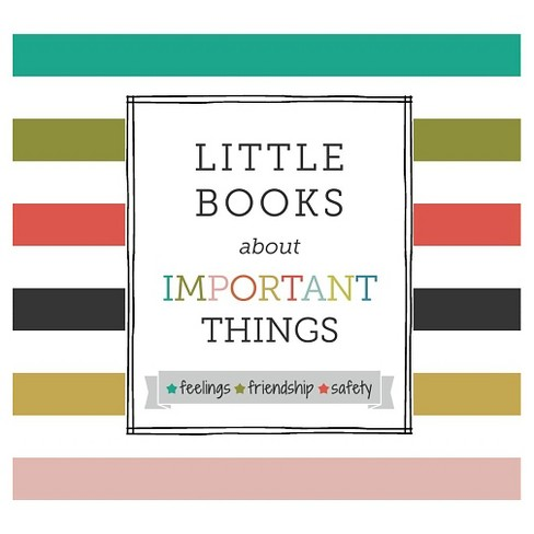 Little Books about Important Things Set by Samantha Kurtzman-Counter - image 1 of 1