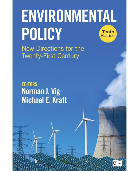Environmental Policy : New Directions for the Twenty-first Century -  (Paperback) - image 1 of 1