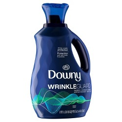 Downy Wrinkle Guard Liquid Fabric Softener and Conditioner - Fresh - 64 fl oz
