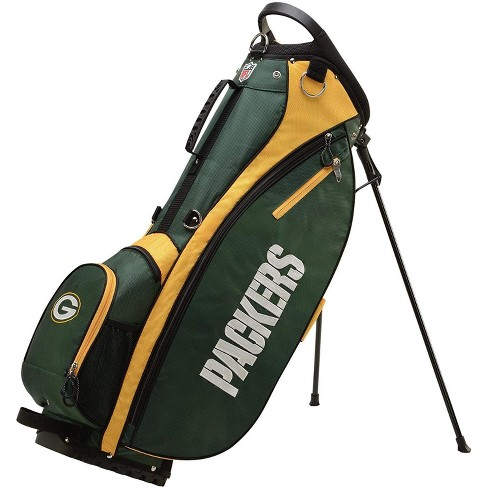 Wilson 2018 NFL Carry Full Size Golf Club Bag with 8 Pockets, Green Bay Packers - image 1 of 4
