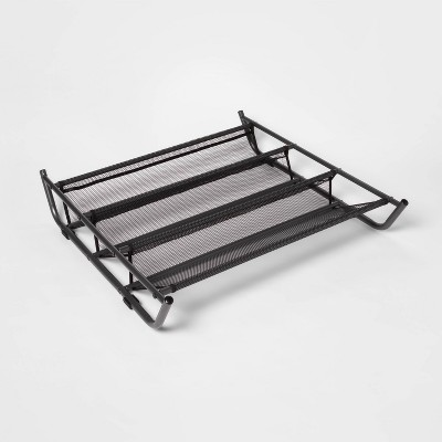 Under Bed Mesh Shoe Rack Gray - Room Essentials™