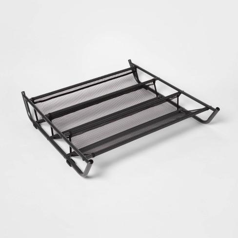 Under Bed Mesh Shoe Rack Gray - Room Essentials™ - image 1 of 4